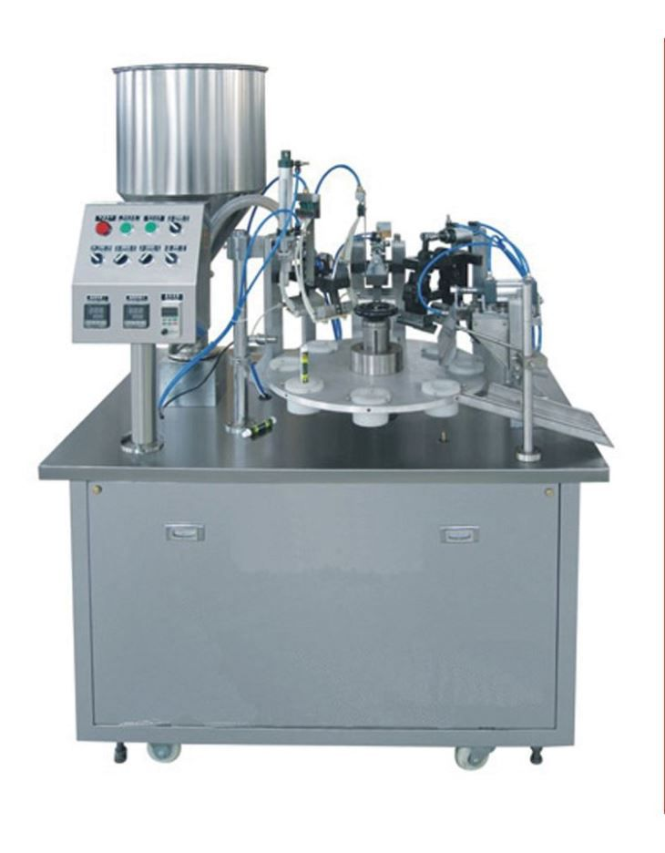 Small Tube Filling and Sealing Machine